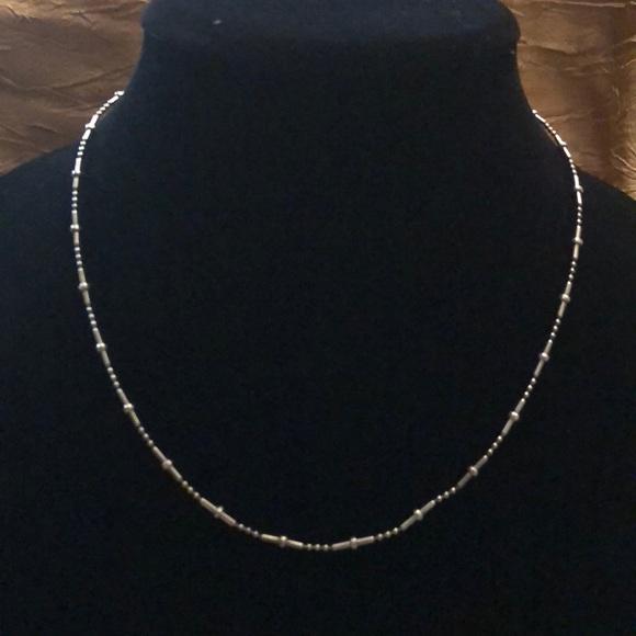 Sterling Silver Dot Dash Chain